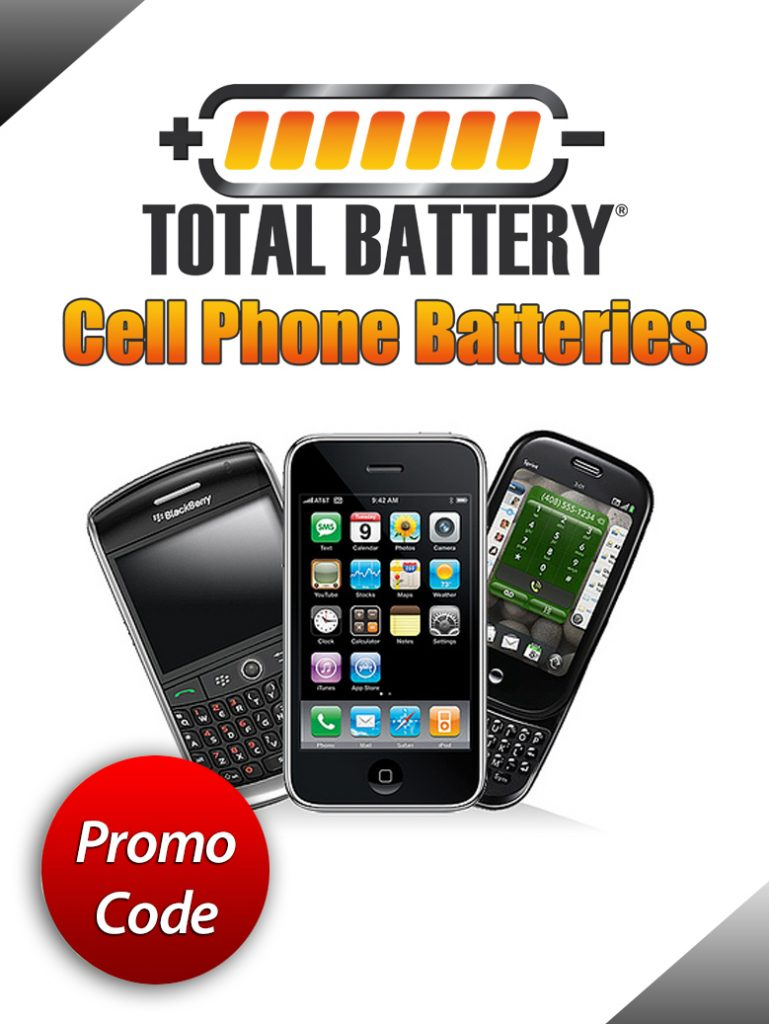 Purchasing Power Promo Code >> Total Battery Cell Phone Batteries - For New & Old Models ...