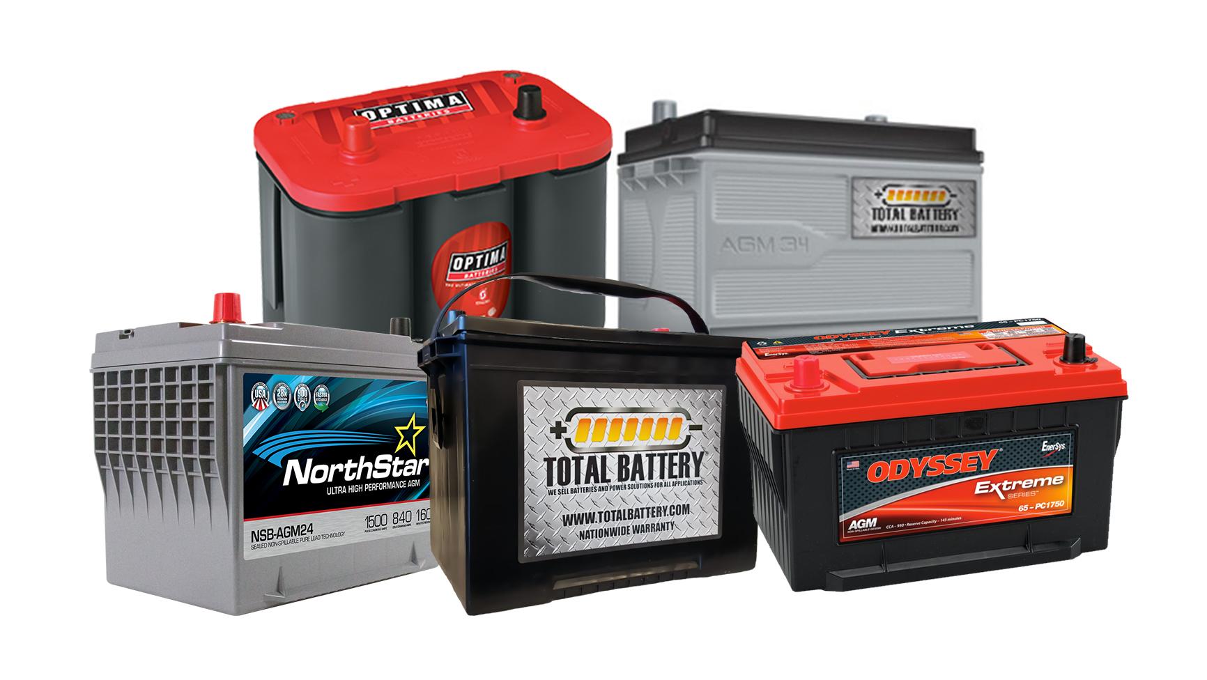 Types Of Automotive Batteries