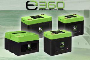 EXPION360 LITHIUM BATTERIES